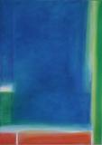 Tiefes blau, 2008 Acryl auf Leinwand, 70x50 cm