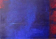 o.T. 2004, Acryl auf Leinwand, 30x130 cm