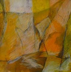 Bild 4, 2002, Mischtechnik auf Papier ca. 20x20 cm