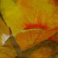 Bild 5, 2002, Mischtechnik auf Papier ca. 20x20 cm