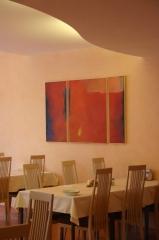 Speisesaal, Paracelsus Klinik Bad Liebezell Unterlengenhardt
