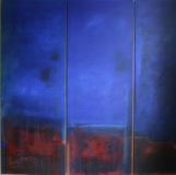 o.T., 2009, Acryl und Geso auf Leinwand160x60x60x40