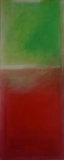 VI  2009, Acryl auf Leinwand, 100x50 cm
