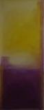VII  2009, Acryl auf Leinwand, 100x50 cm