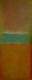 VIII  2009, Acryl auf Leinwand, 100x50 cm