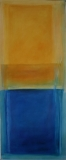X  2009, Acryl auf Leinwand, 100x50 cm