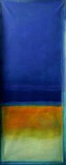 XII 2009, Acryl auf Leinwand, 100x50 cm