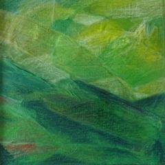 Bild 11, 2002, Mischtechnik auf Papier ca. 20x02 cm
