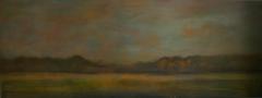 Landschaft III 12, 2012, Mischtechnik auf Leinwand, 60x160 cm