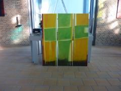 Aufbau Ausstellung KirchengemeindeMeerbusch 2016
