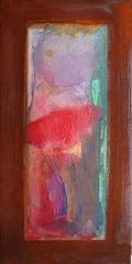 Wochentafeln 1 11 Collage auf Eisen, 2010- 12 30x15 cm